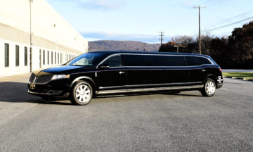 Black Super Stretch Limousine