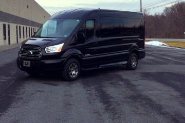 Small Corporate Van