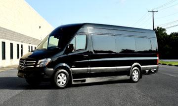 Corporate Jet Van