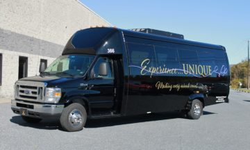 Mini Coach in Harrisburg, Lancaster and York by Unique Limousine